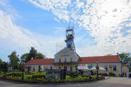 Building of Wieliczka Salt Mine