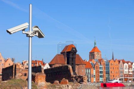 CCTV security cam