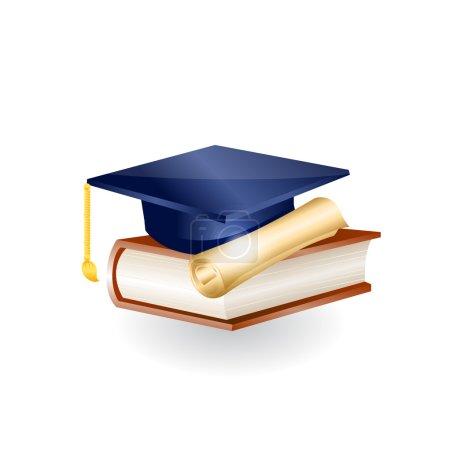 Education icon. Vector
