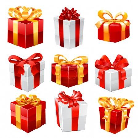 Gift set. Vector