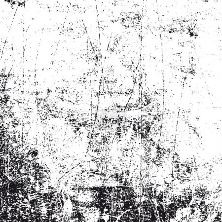 Grunge white and black texture, vector