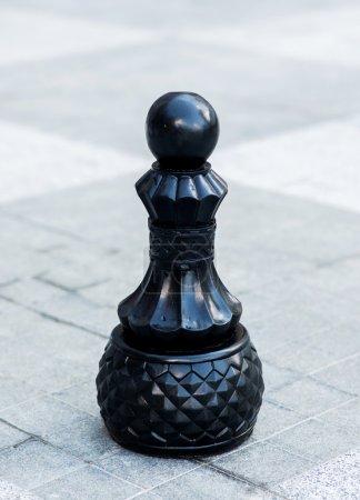 Chess figures outdoor