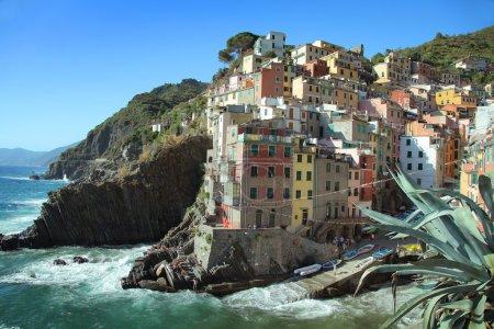 Colored Riomaggiore