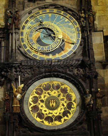 Clock in Prague