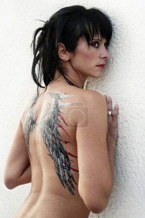 Sexy woman with body painting