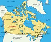 Canada - vector map