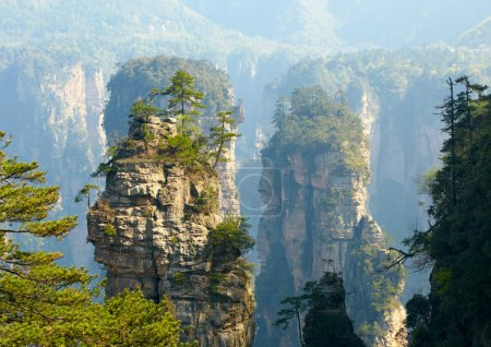 Zhangjiajie National Park, China. Avatar mountains