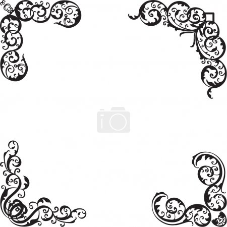 Illustration for Nice design elements isolated on white - Royalty Free Image