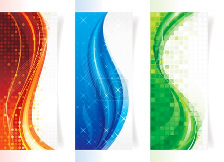 Vertical Curve Banners