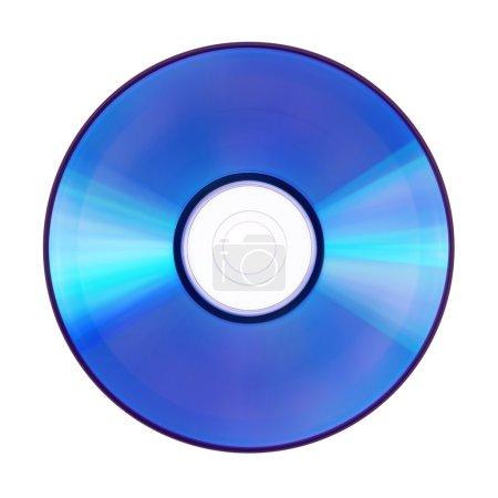 Photo pour DVD vierge ou disque compact sur fond blanc - image libre de droit