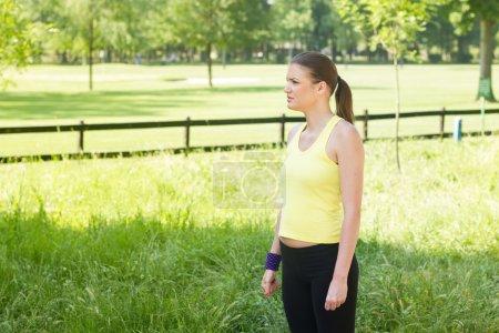Fitness Girl Outdoor