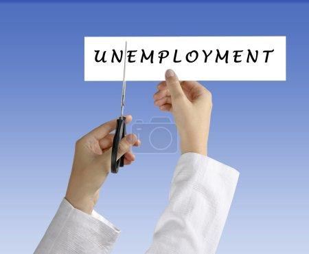 Symbol of unemployment