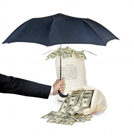 Photo for Protecting money - Royalty Free Image