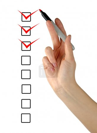 Photo for Checklist - Royalty Free Image