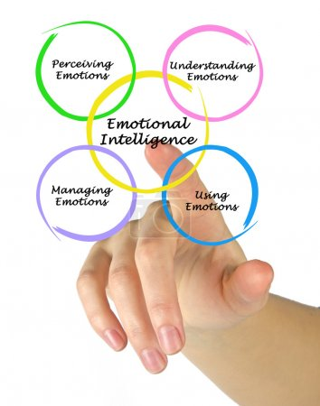 Photo for Diagram of emotional intelligence - Royalty Free Image