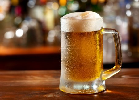 Cold mug of beer...