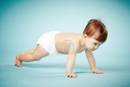sweet child crawls
