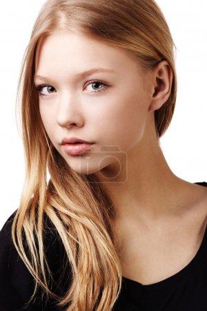 beautiful teen girl portrait