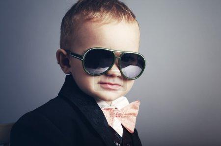 Small stylish gentleman with sunglasses