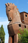 Trojan Horse located in Troy, Turkey