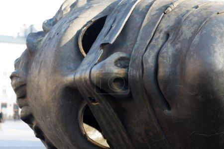 """Sculpture by Igor Mitoraj """"Eros Bendato"""