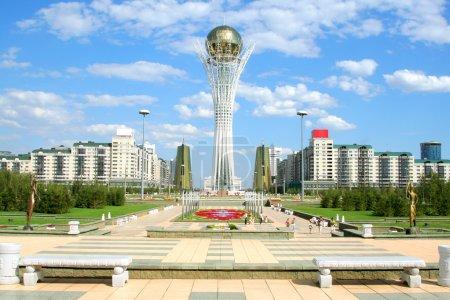 Bayterek Tower in Astana