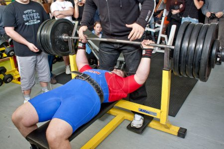 Amateur bench press championship