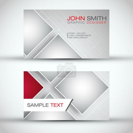 Modern Business - Card Set | EPS10 Vector Design