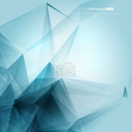 Photo for 3D Abstract Geometric Background for Design - Royalty Free Image