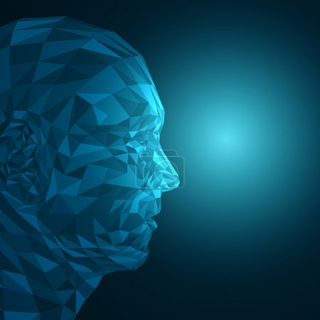 Abstract 3D Face by Shapes