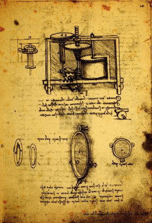 Old Engineering drawing