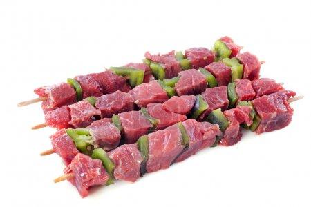 skewers of beef