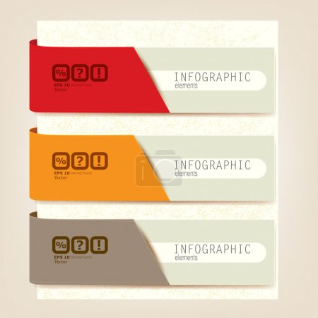 Set of Infographic elements. Design template.