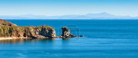 Photo for Horizontal photo of a sea landscape - Royalty Free Image
