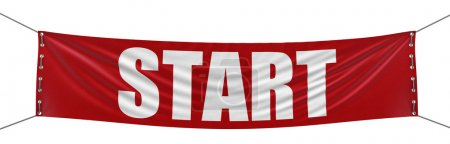 Photo for Start Banner - Royalty Free Image