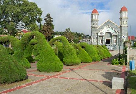 Zarcero garden