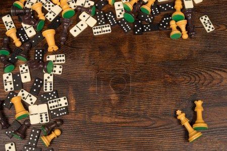 Board games still life