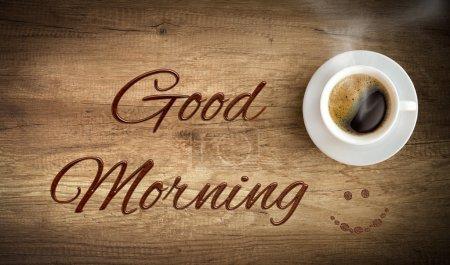 Photo pour Matin tasse de café - image libre de droit