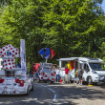 Col du Granier,France-July 13th, 2012. Carrefour t...
