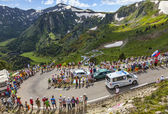 Ambulance of Le Tour de France