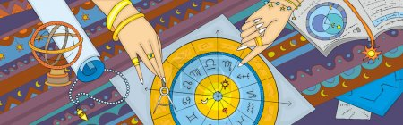 Astrology Prognostication Banner