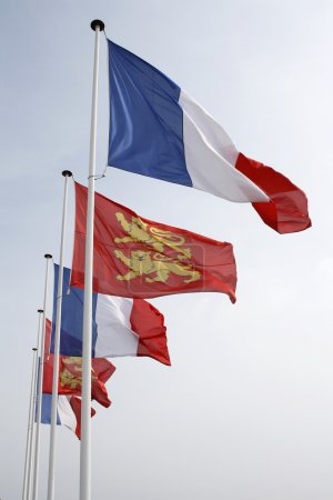 Normandy Flags