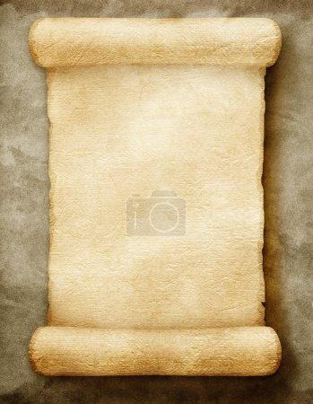 Photo pour Ancien manuscrit en papier - image libre de droit