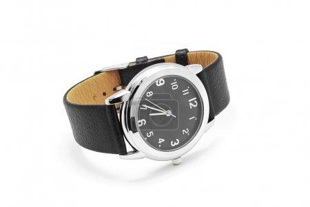 Photo pour Montre-bracelet sur fond blanc - image libre de droit