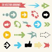 Collection of Vector Arrows