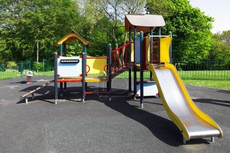 Children playground in the city, uk