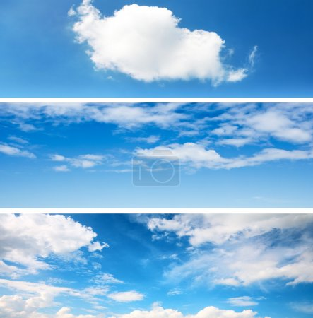 Sky backgrounds set