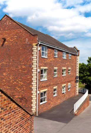 Photo for Residential brick house - Royalty Free Image