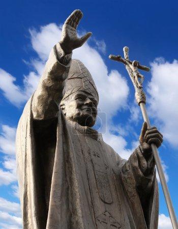 Pope John Paul II...