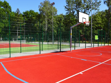 Photo for Basketball court - Royalty Free Image
